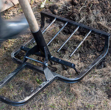 Как сделать лопату крот
