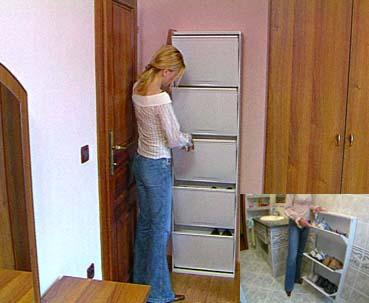 Шкафчик для обуви слим